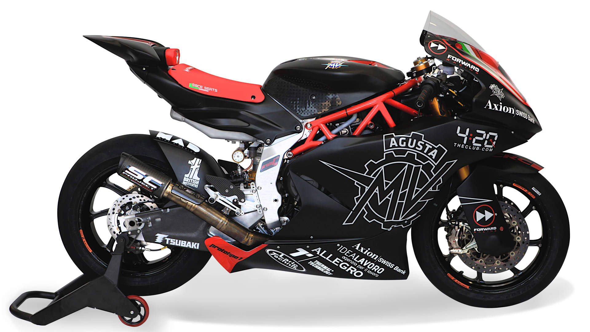 MV Agusta fields a Moto2 bike for 2019